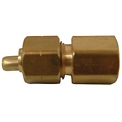 Sioux Chief Adapter 5/16 inch Outside Diameter Ander-Lign X 1/4 inch Female Fitting No Lead 1/Bg