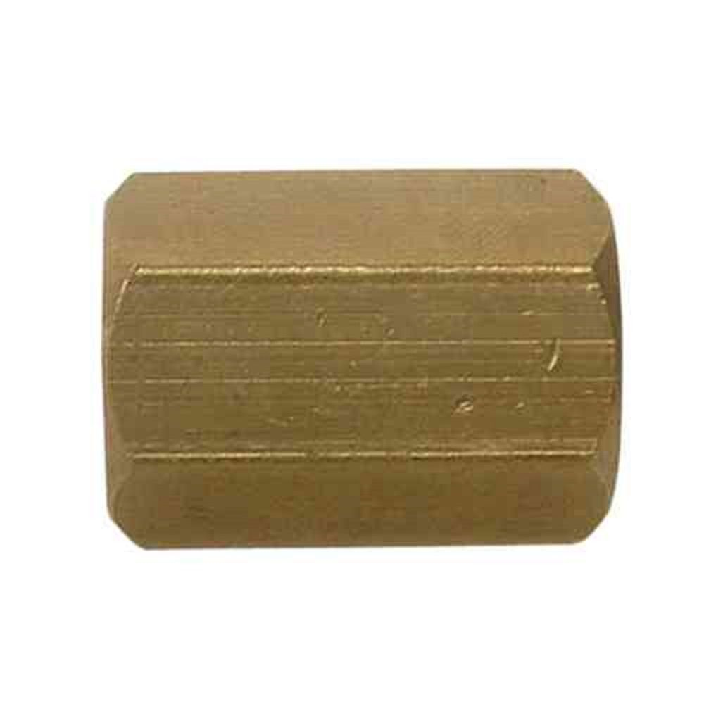 Sioux Chief 1/2 inch Lead-Free Brass FPT x FPT Coupling