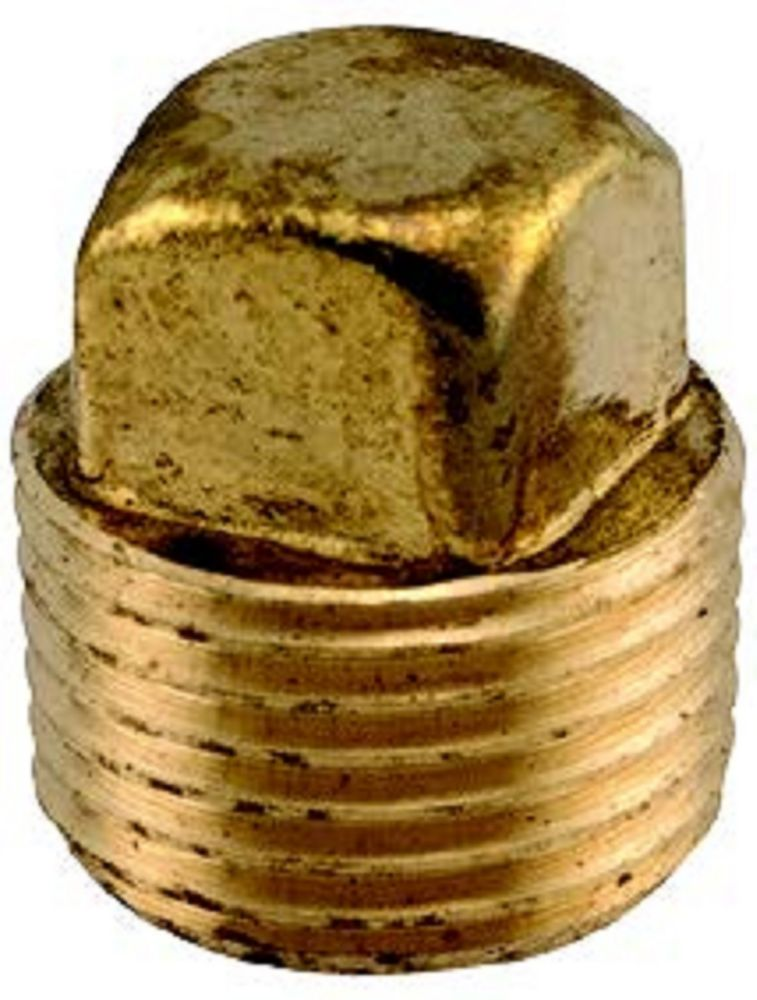 Sioux Chief 3/8 inch Lead-Free Brass Square-Head Plug