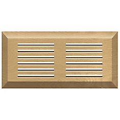 Canadian Birch 4 x 10 top mount vent