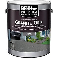 Granite Grip 3.79L Interior/Exterior Concrete Floor Paint in Grey
