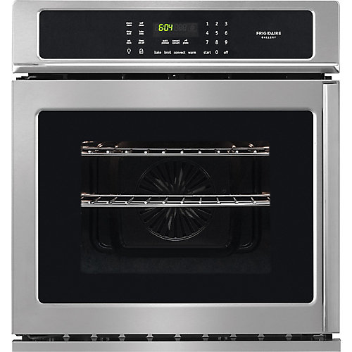 Frigidaire Gallery 27 Inch Side Swing Single Wall Oven