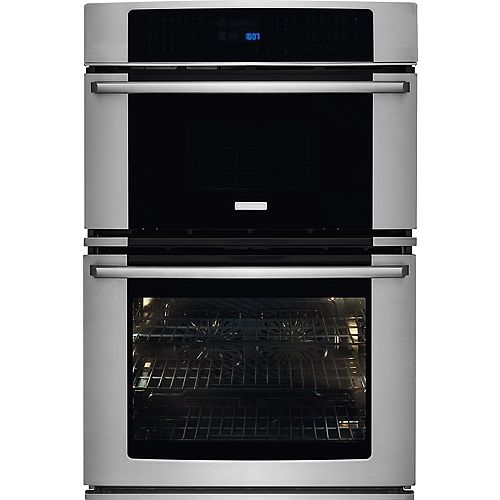 Electrolux 30-inch Electric Wall Oven and Microwave Combination with Wave-Touch Controls in Stainless steel