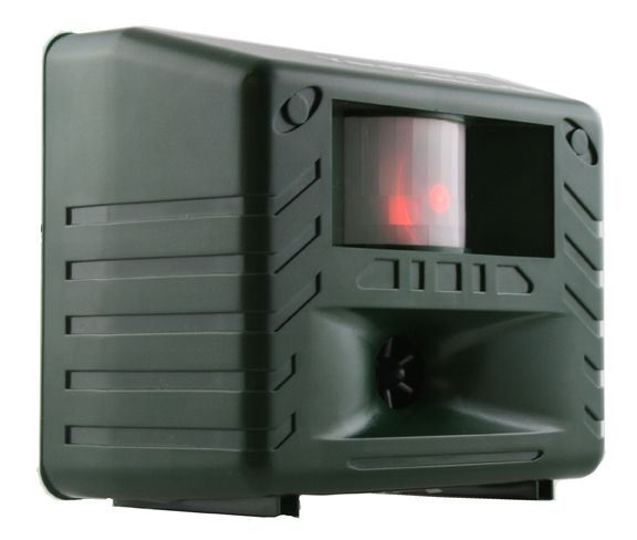 Bird-X Inc. Low Frequency Pest Repeller and Pest Control Yard Gard Deer Raccoons Squirrels