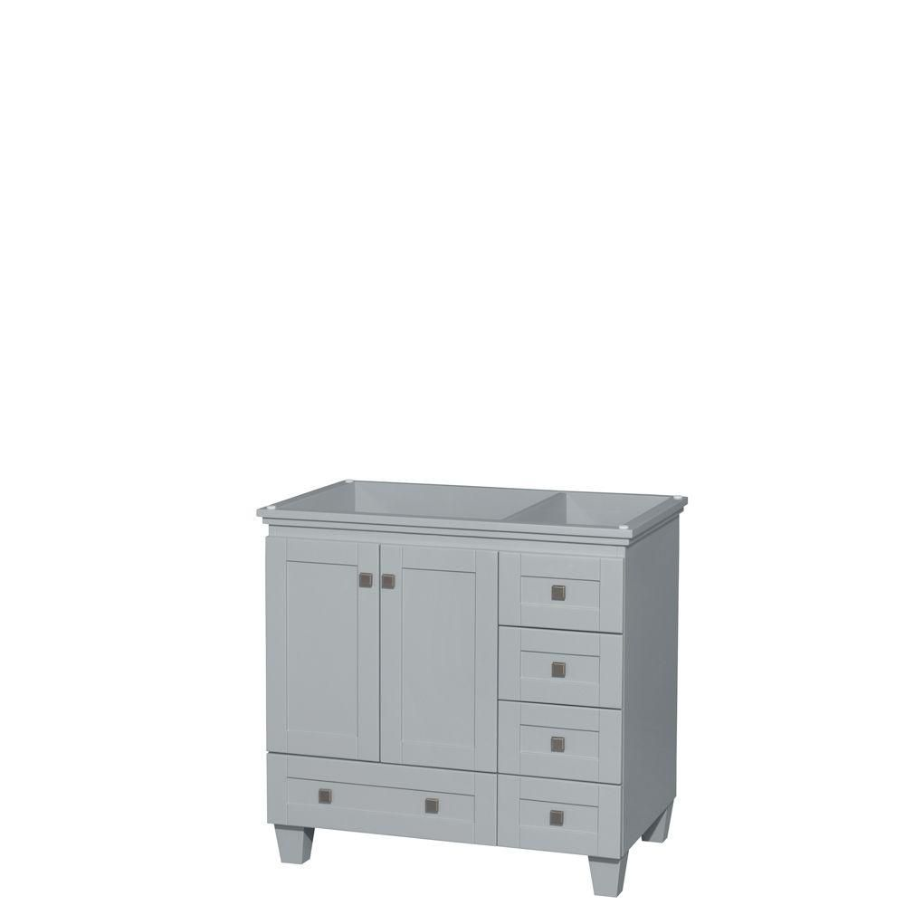 Acclaim 36-Inch  Vanity Cabinet in Oyster Grey