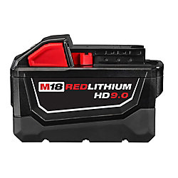M18 18V Lithium-Ion High Demand (HD) 9.0 Ah REDLITHIUM Battery Pack
