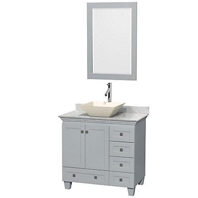 Wyndham Collection Acclaim Inch W Drawer Door Freestanding - Freestanding 36 inch bathroom vanity