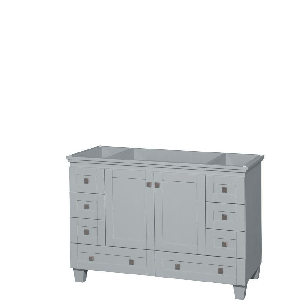 Acclaim 48-Inch  Vanity Cabinet in Oyster Grey