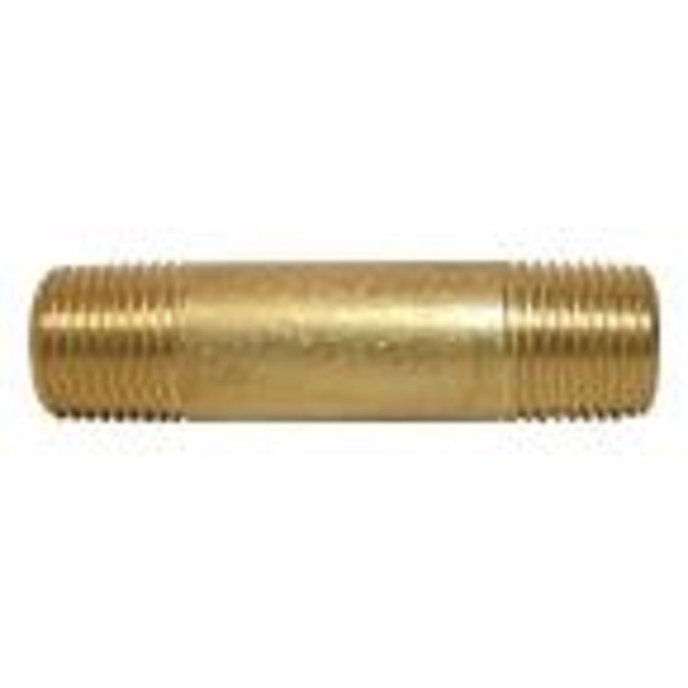 New StyLe 1//2-Inch Male Pipe Thread Brass Hex Nipple