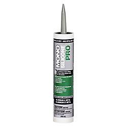 MONO Silicone PRO Premium Silicone Concrete & Masonry Sealant  Grey  290 ml