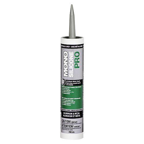 DAP Silicone Pro - Aluminum and Metal 290 ml