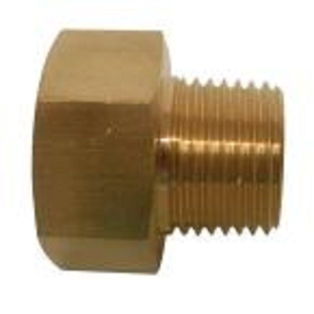 Sioux Chief 3/4 inch x 3/4 inch Tapped 1/2 inch Lead-Free Brass FGH x MIP Adapter