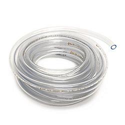 """CANADA TUBING Tube de Vinyle Clair diamètre intérieur 5/16"""" Xdiamètre extérieur 7/16"""" x bobine 20 pi"""
