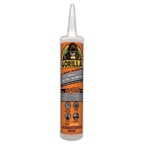 Gorilla Construsction Adhesive Cartridge
