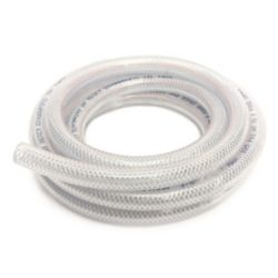 CANADA TUBING Braided Vinyl Tubing, 3/8 Inch Inside Diameter X 5/8 Inch Outside Diameter X 10Ft Coil