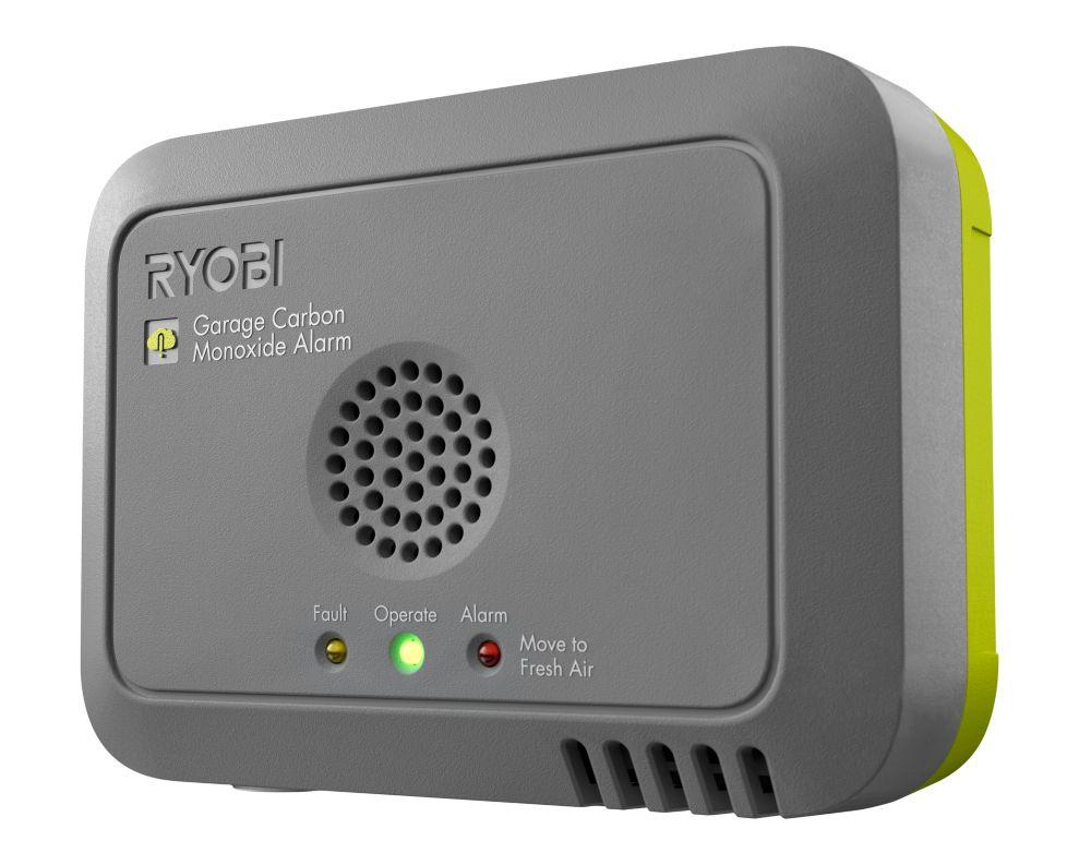 RYOBI Module de détection de monoxyde de carbone pour garage