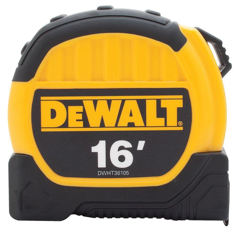 DEWALT  Le ruban à mesurer DWHT36105 de 16 pi de DEWALT