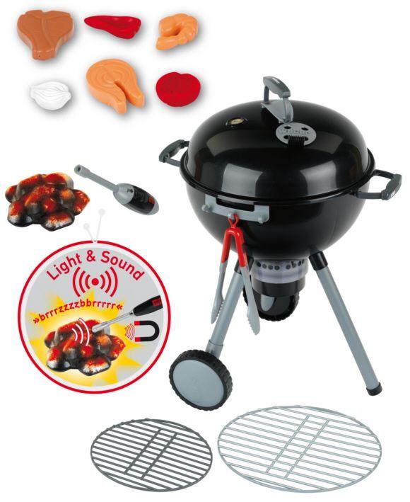 Barbecue sphérique Weber de première qualité offrant des fonctions luminaires et sonores complète...