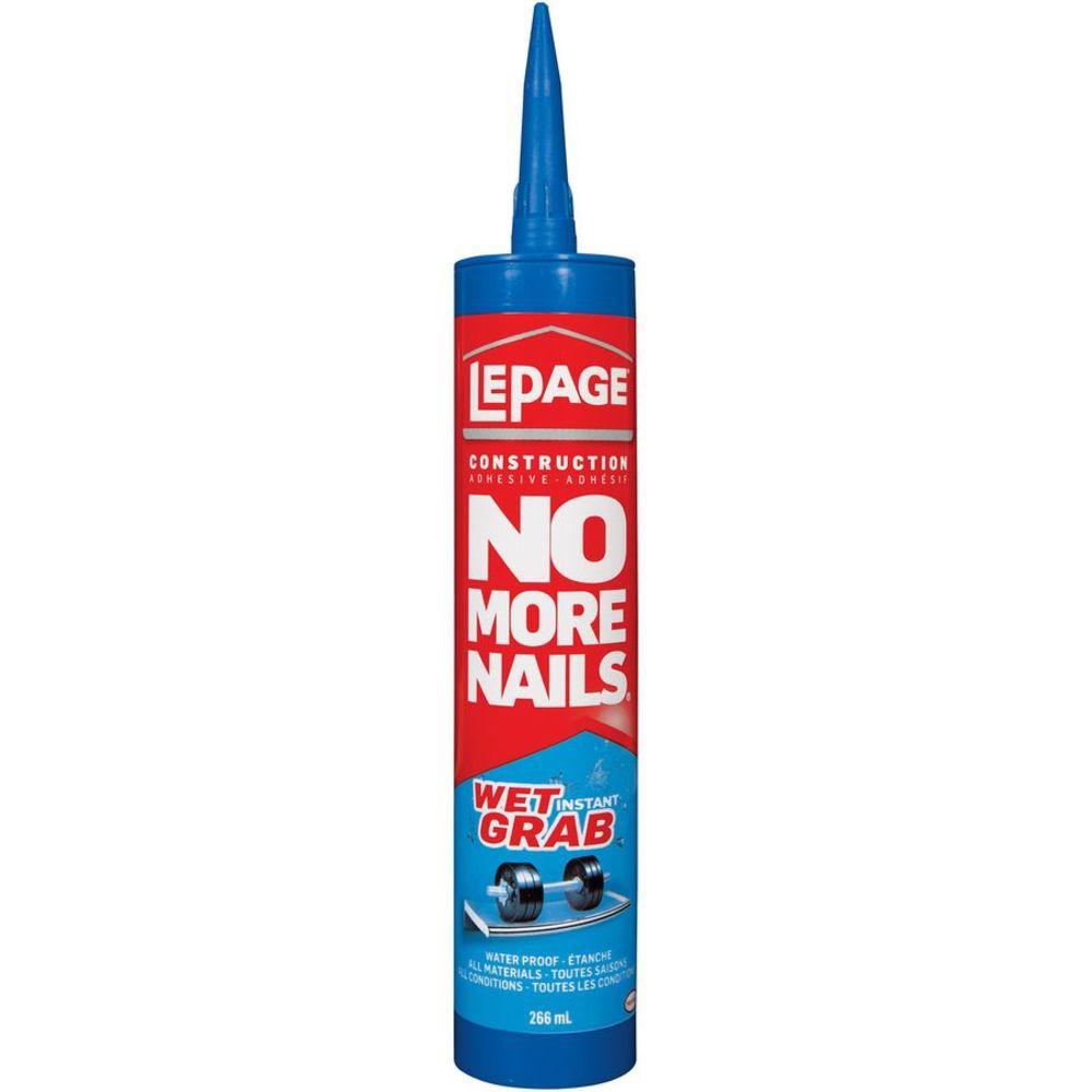 No More Nails Wet Grab Adhésif pour la construction