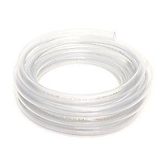 Clear Vinyl Tubing, 1/2 Inch Inside Diameter X 5/8 Inch Outside Diameter X 20 Ft Coil