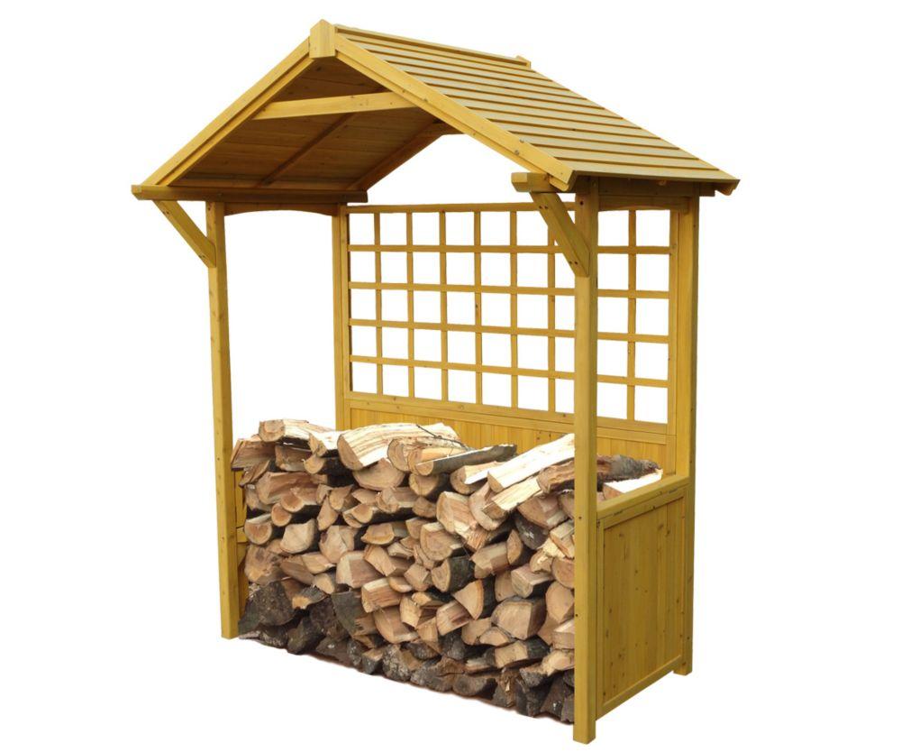 Leisure Season Firewood Storage Shed