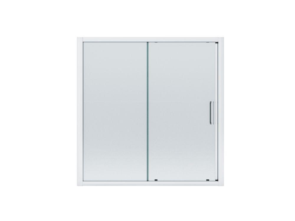 Porte coulissante conçue pour la baignoire-douche Cascade