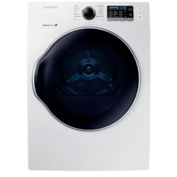 Samsung 4.0 cu.ft. Compact Front Load Electric Dryer in White