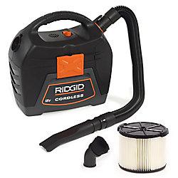 RIDGID X4 18V 3-Gallon Cordless Wet/Dry Vacuum (Tool Only)