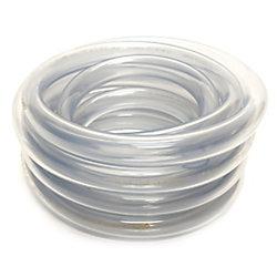 CANADA TUBING Clear Vinyl Tubing, 3/4 Inch Inside Diameter X 1 Inch Outside Diameter X 20 Ft Coil