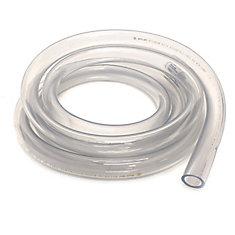 Clear Vinyl Tubing, 3/4 Inch Inside Diameter X 1 Inch Outside Diameter X 10 Ft Coil