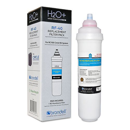 Brondell H2O+ Circle RO Membrane Replacement Filter