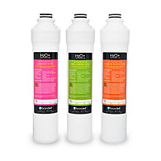 H2O+ Coral 3-Stage Replacement Filter Set (3-Pack)