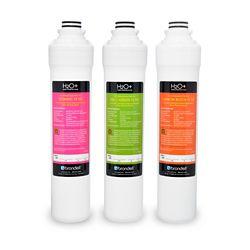 Brondell Le pack de filtres de remplacement du trois étapes H2O+ Coral