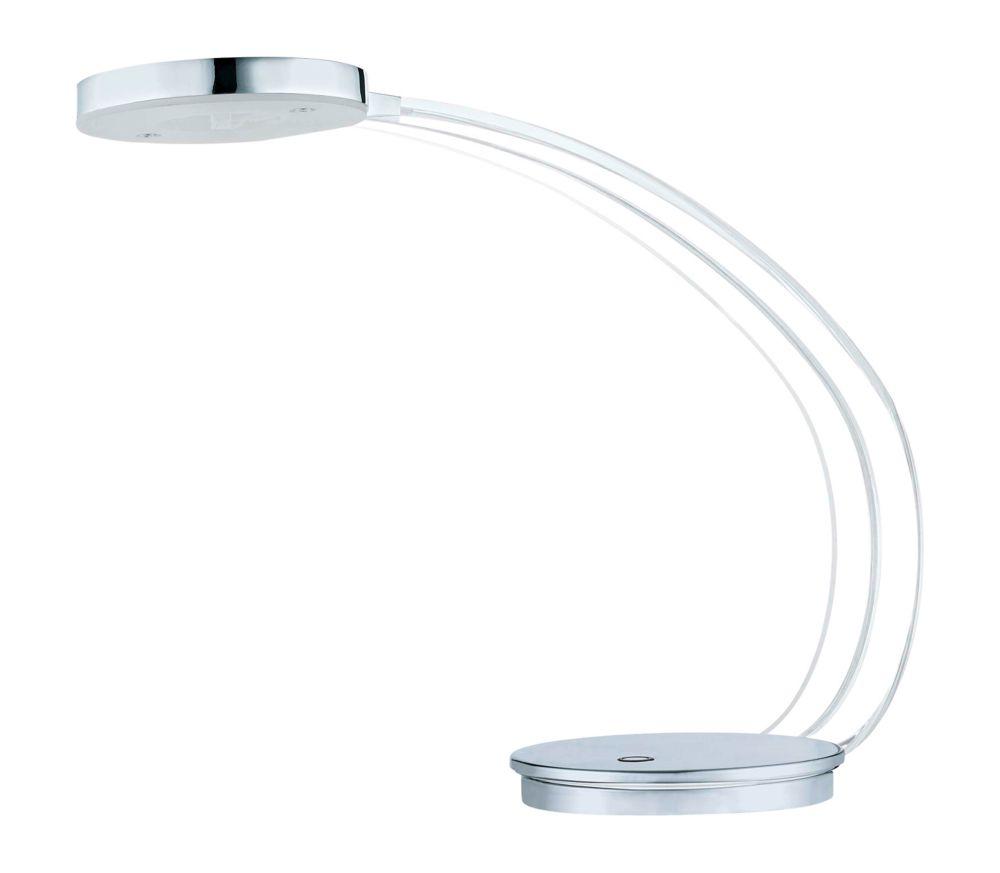 Tartini LED Lampe de Table, Fini Chrome