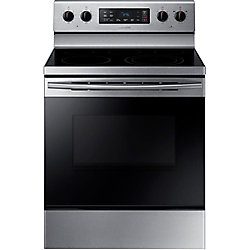 30-inch 5.9 cu. ft. Single Oven Electric Range with Self-Cleaning in Stainless Steel