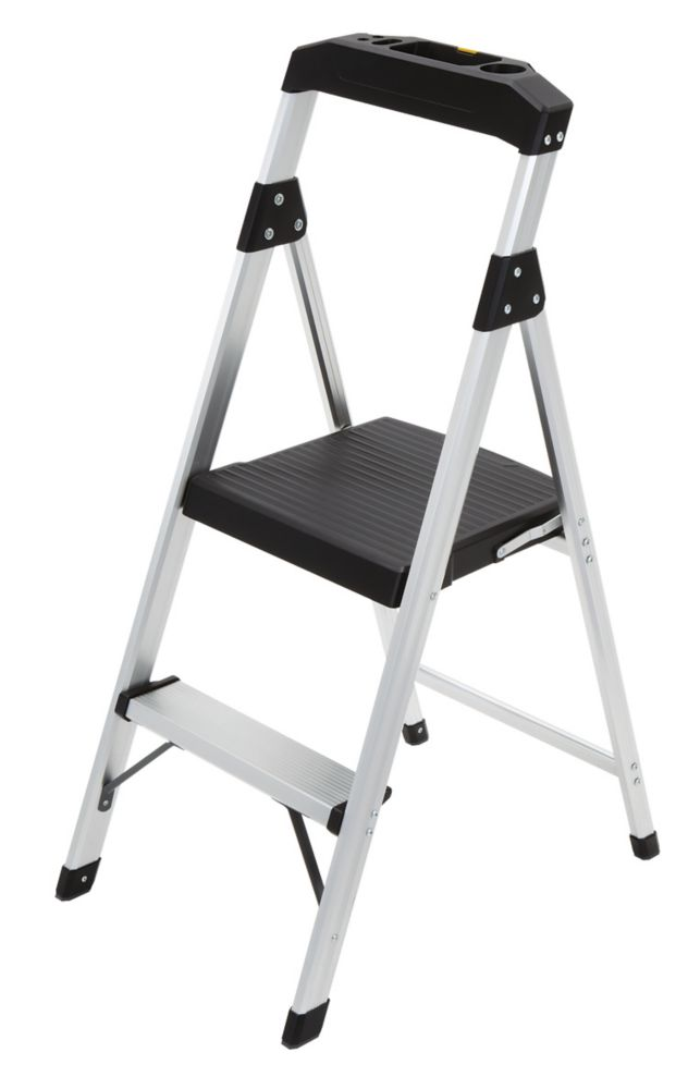 Gorilla Ladders 2-Step Lightweight Aluminum Step Stool