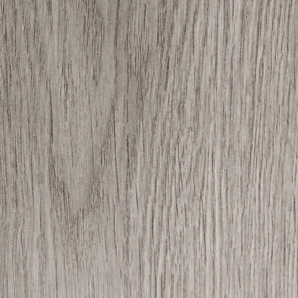Traffic Master Pebble Grey Oak Laminate Flooring Sample
