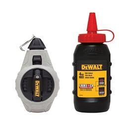 DEWALT DWHT47376L 6:1 Chalk Reel with Red Chalk