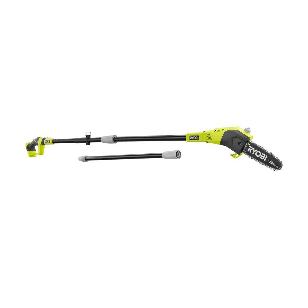 18V ONE+� 9 1/2 ft. Lithium-Ion Cordless Pole Saw with 8-inch Blade (Tool Only)