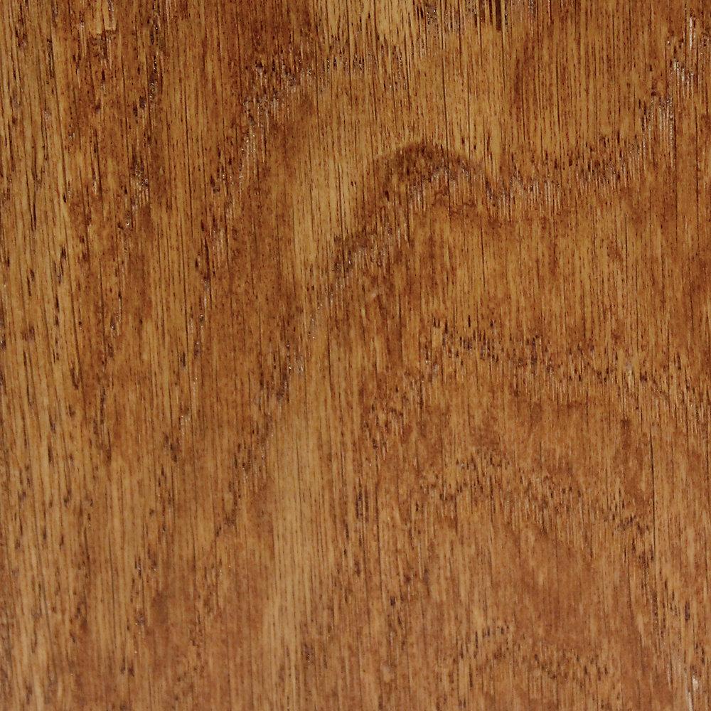 Échantillon - Plancher, bois massif, Bruce chêne épicé pâle