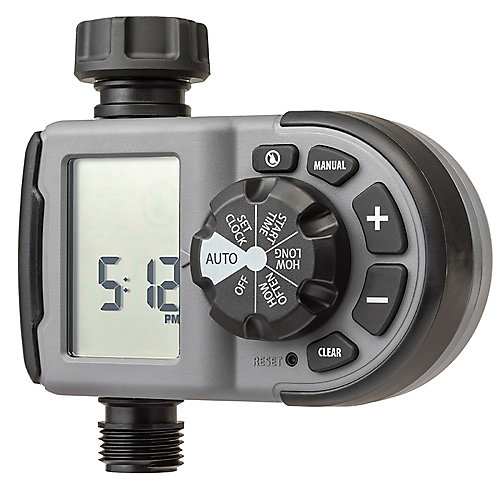 Orbit 1-Outlet Electronic Watering Timer | The Home Depot Canada