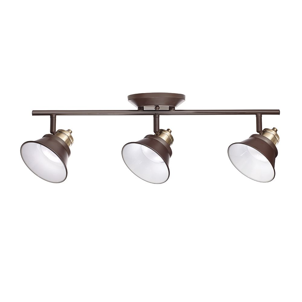 3-Light LED Track Light-Glasgow Collection