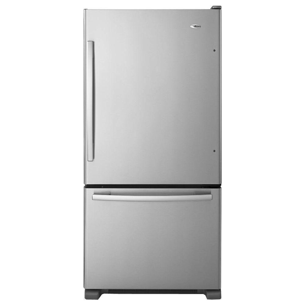 Amana 29-Inch Wide Bottom-Freezer Refrigerator w/ EasyFreezer Pull-Out Drawer