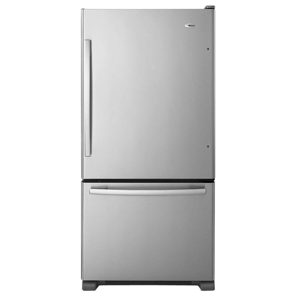 Amana 32-Inch Wide Bottom-Freezer Refrigerator w/EasyFreezer Pull-Out Drawer