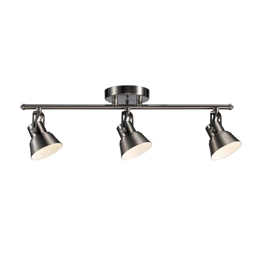 3-Light LED Directional Track Light Kit