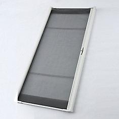 Brisa White Retractable Screen for Sliding Door