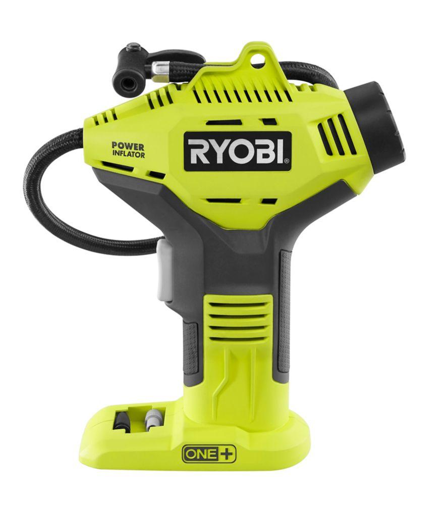 RYOBI 18V ONE+ Cordless Power Inflator (Tool-Only)