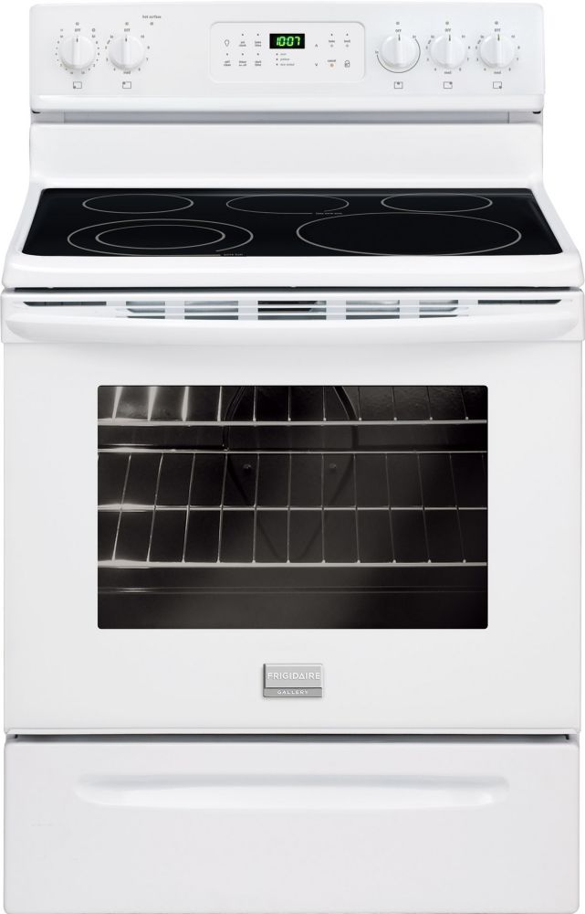 Gallery 5.4 cu. ft. 30-inch Free-Standing Electric Range