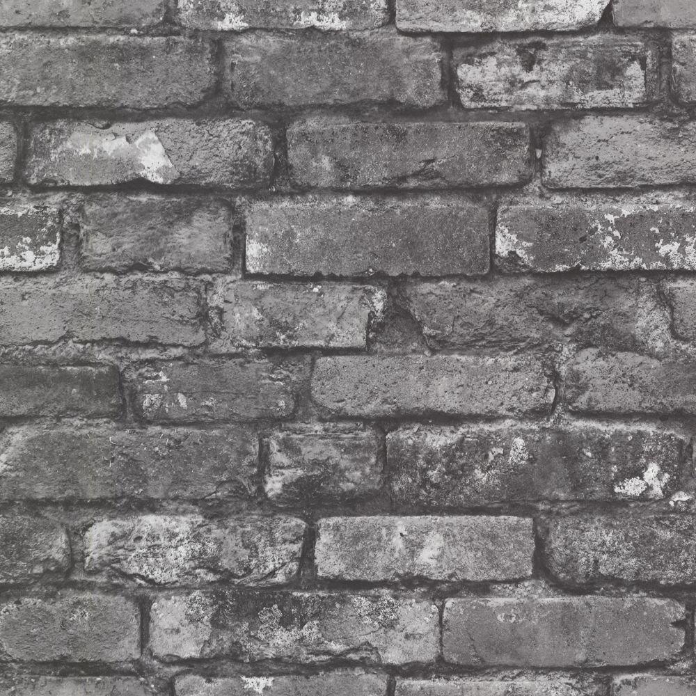 Brickwork Slate Exposed Brick Texture Wallpaper