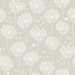 NuWallpaper Dandelion Taupe Peler et Coller Papier Peint